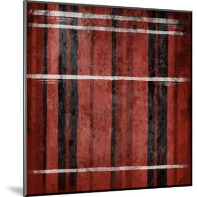 Red Stripes-Jace Grey-Mounted Art Print