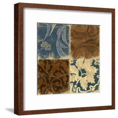 Pattern-Jace Grey-Framed Art Print