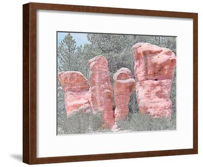 Rock Garden-Joseph Charity-Framed Art Print