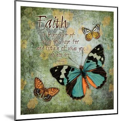 Butterfly Faith-Carole Stevens-Mounted Art Print