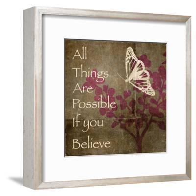All Things Fly-Kristin Emery-Framed Art Print