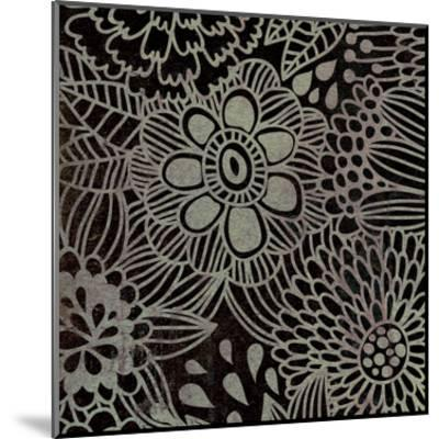 Stencil Floral-Kristin Emery-Mounted Art Print