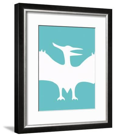 Dino Bird-Taylor Greene-Framed Art Print