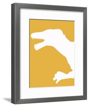 Tres-Taylor Greene-Framed Art Print