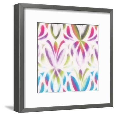 Colorful Motif IV-Taylor Greene-Framed Art Print