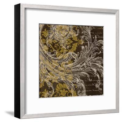 Oscar Gold-Taylor Greene-Framed Art Print