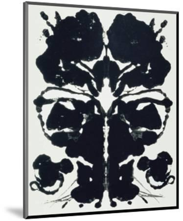 Rorschach-Andy Warhol-Mounted Art Print