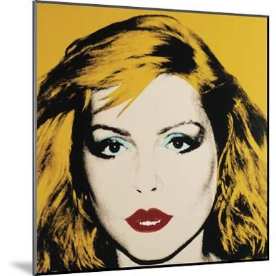 Debbie Harry, 1980-Andy Warhol-Mounted Art Print
