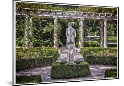 Statue at The Breakers in Newport Rhode Island--Mounted Poster