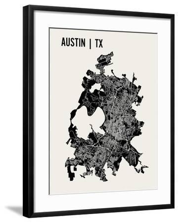 Austin-Mr City Printing-Framed Art Print