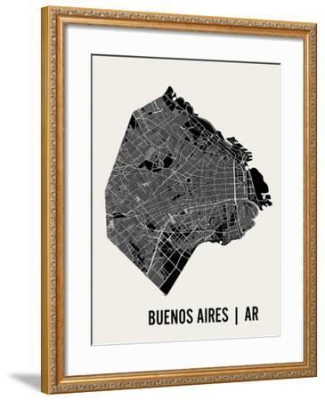 Buenos Aires-Mr City Printing-Framed Art Print