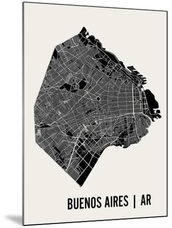 Buenos Aires-Mr City Printing-Mounted Art Print