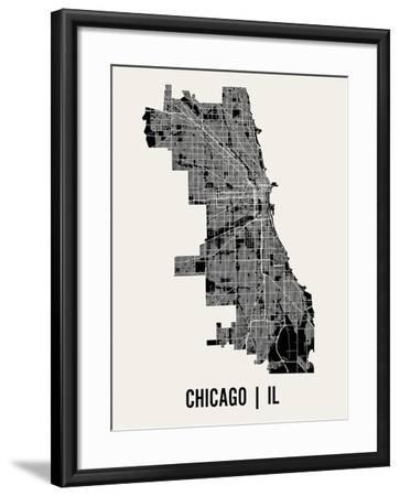 Chicago-Mr City Printing-Framed Art Print
