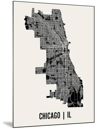 Chicago-Mr City Printing-Mounted Art Print