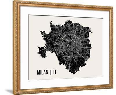 Milan-Mr City Printing-Framed Art Print