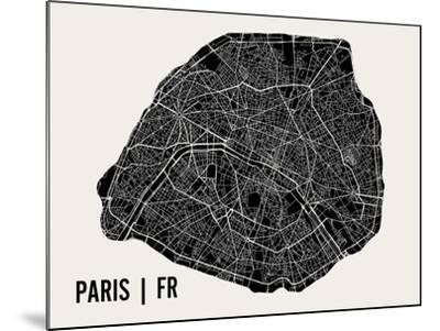 Paris-Mr City Printing-Mounted Art Print