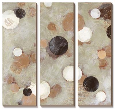 Ice Cream Shops-Arleigh Wood-Framed Canvas Art Set