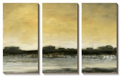 Dusk V-Sharon Gordon-Framed Canvas Art Set