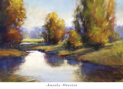 Lake View 2-Amanda Houston-Framed Art Print