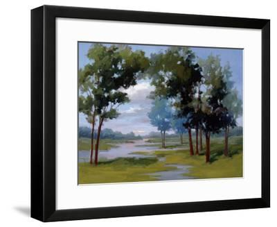 Wandering Water-Vicki Mcmurry-Framed Giclee Print