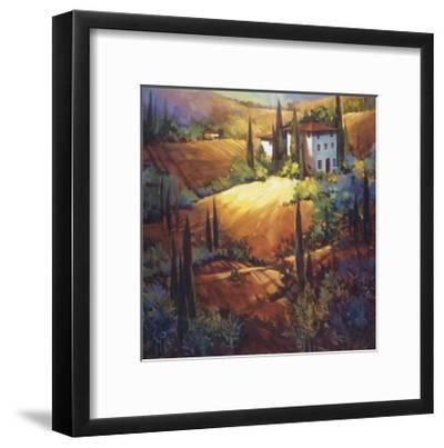 Morning Light Tuscany-Nancy O'toole-Framed Giclee Print