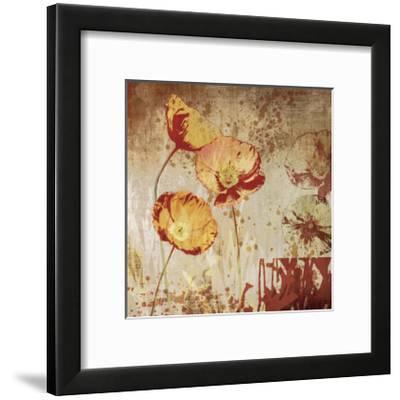 Poppy Heat II-Tandi Venter-Framed Giclee Print