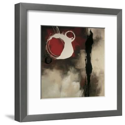 Resonance in Red-Laurie Maitland-Framed Giclee Print