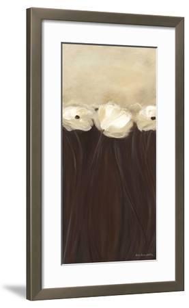 Poppy Bouquet-Karen Lorena Parker-Framed Giclee Print