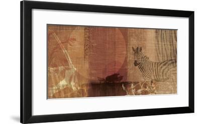 Safari Sunset I-Tandi Venter-Framed Giclee Print