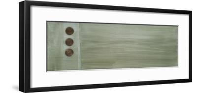 Aqua Drops IV-Karen Lorena Parker-Framed Giclee Print