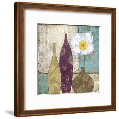 Le Pavot Blanc-Keith Mallett-Framed Giclee Print