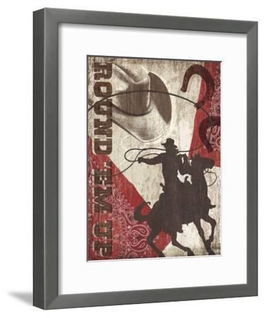 Round 'Em Up-Tandi Venter-Framed Giclee Print