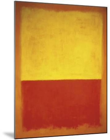 No. 12, 1954-Mark Rothko-Mounted Art Print