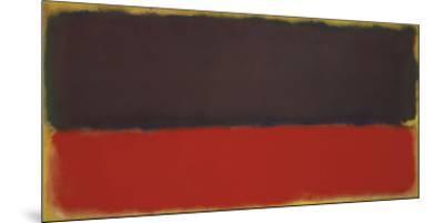 No. 13, 1951-Mark Rothko-Mounted Art Print