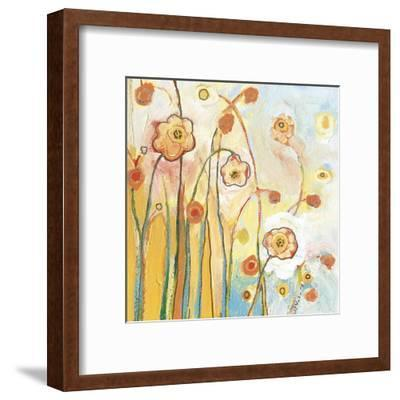 Orange Whimsy-Jennifer Lommers-Framed Art Print