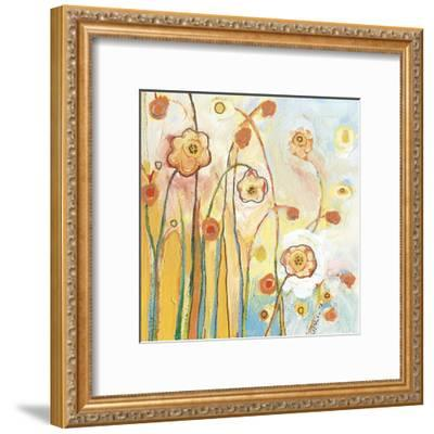 Orange Whimsy-Jennifer Lommers-Framed Art Print