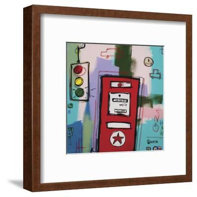 Trust Your Car to the Man who Wears the Star-Brian Nash-Framed Art Print