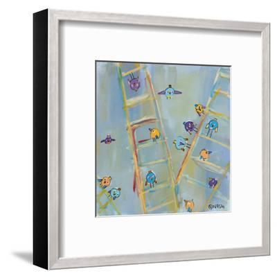 Climb or Fly-Brian Nash-Framed Art Print