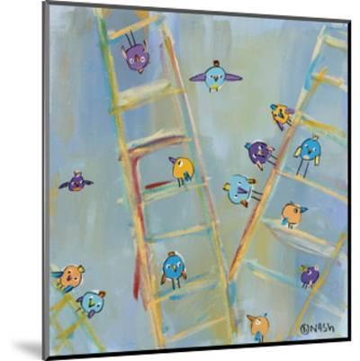 Climb or Fly-Brian Nash-Mounted Art Print