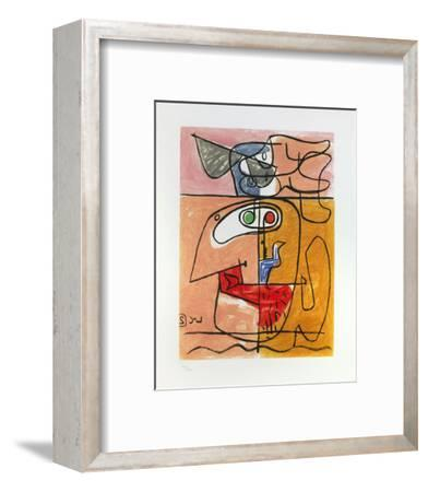 Unité, 1965-Le Corbusier-Framed Art Print