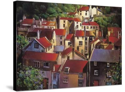 Rooftops II-Michael O'Toole-Stretched Canvas Print