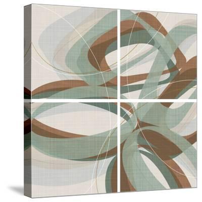 Mint Ripple-Ahava-Stretched Canvas Print
