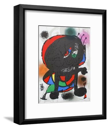 Litografia original III-Joan Mir?-Framed Collectable Print