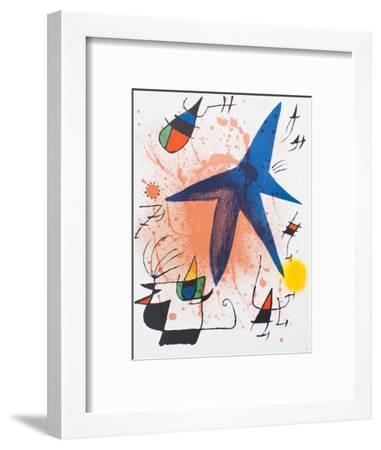 Litografia original I-Joan Mir?-Framed Collectable Print