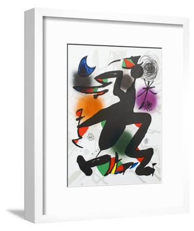 Litografia original IV-Joan Miro-Framed Collectable Print