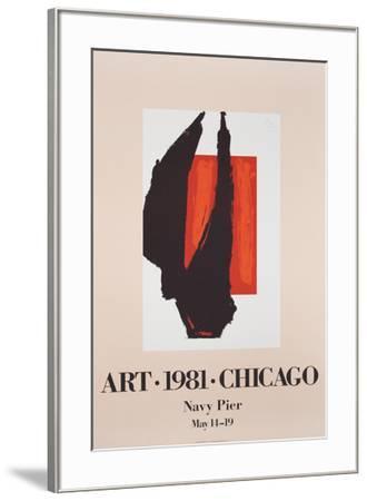 Art Chicago-Robert Motherwell-Framed Art Print