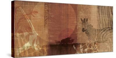 Safari Sunset I-Tandi Venter-Stretched Canvas Print