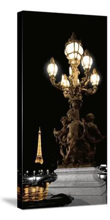 Paris Nights II-Jeff Maihara-Stretched Canvas Print