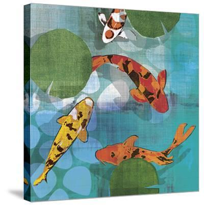 Lucky Koi II-Tandi Venter-Stretched Canvas Print