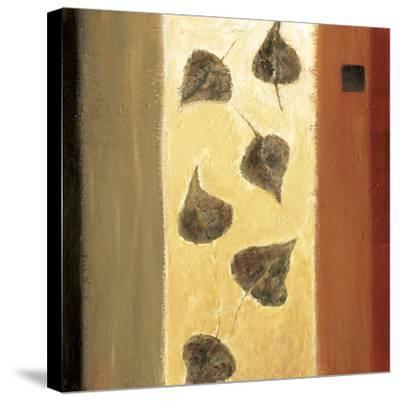 Leaf Innuendo II-Ursula Salemink-Roos-Stretched Canvas Print